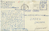 Postcard from C. W. Resch to Mr. Dorsey, June 18, 1943.
