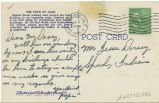 Postcard from [Marion] Pope to Mr. Jesse Dorsey, September 1, 1945.