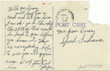 Postcard from [Marion] Pope to Mr. Jesse Dorsey, November 10, 1943.