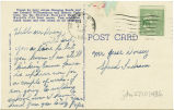 Postcard from [Marion] Pope to Mr. Jesse Dorsey, October 12, 1943.