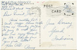 Postcard from A. G. Perry to Mr. Jess Dorsey, October, 25, 1943.