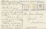 Postcard from Anthony G. Perry to Mr. Jess Dorsey, May 17, 1943.