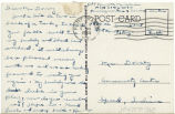 Postcard from Kenneth Minasian to Mr. Dorsey, September 6, 1944.