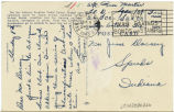 Postcard from Russ Martin to Mr. Jesse Dorsey, April 9, 1943.