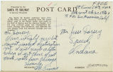 Postcard from C. E. Linne to Mr. Jesse Dorsey, undated.