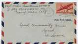 Letter from Archie Greathouse to Speed Community House, October 16, 1943.