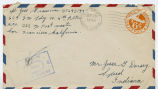 Letter from Jess Grammer to Mr. Jesse G. Dorsey, September 22, 1944.