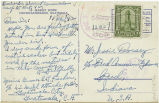 Postcard from Arnold G. Fischer to Mr. Jessie Dorsey, November 11, 1942.