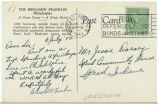 Postcard from Arnold G. Fischer to Mr. Jessie Dorsey, July 6, 1942.