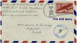 Letter from Antonio G. Del Grande to Mr. Jessie G Dorsey, August 3, 1943.