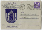 Letter from Clifford R. Leap to Mr. Jessie Dorsey, August 27, 1943.