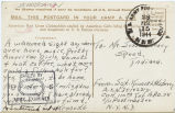 Postcard from Kenneth H. Berry to Mr. Jesse Dorsey, February 15, 1944.