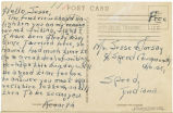 Postcard from Kenneth to Mr. Jesse Dorsay, May 21, 1943.