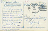 Postcard from William Bedell to Jesse Dorsey, February 14, 1944.