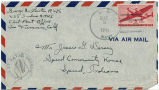 Letter from George Lawton to Mr. Jessie G. Dorsey, February 27, 1945.