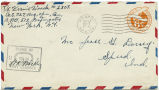 Letter from Vernil Woods to Mr. Jesse G. Dorsey, August 14, 1943.