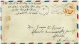 Letter from Carl Riley to Mr. Jesse G. Dorsey, October 15, 1944.