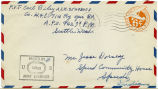 Letter from Carl Riley to Mr. Jesse Dorsey, August 13, 1943.