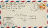 Letter from Laurence Riggle to Mr. Jessie Dorsey, August 21, 1944.