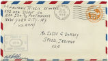 Letter from Laurence Riggle to Mr. Jesse G. Dorsey, February 16, 1944.