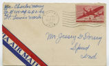 Letter from Charles Money to Mr. Jessey G. Dorsey, October 16, 1942.