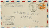 Letter from Theodore P Briner to Mr. Jesse Dorsey,  March 29, 1944.
