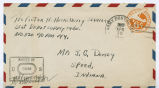 Letter from Vic Huckelberry to Mr. J. G. Dorsey, April 16, 1944.