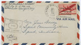 Letter from Speedy Hostettler to Mr. Jesse Dorsey, October 21, 1944.