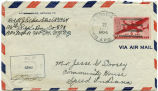 Letter from R. J. Eckert  to Mr. Jesse G Dorsey, March 22, 1945.