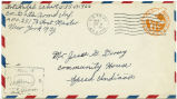 Letter from Ralph Eckert  to Mr. Jesse G. Dorsey, September 9, 1943.