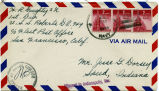 Letter from H.R. Doughty to Mr. Jesse G. Dorsey, 28 January 28, 1945.