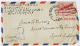 Letter from Ora B. Broadus to Mr. Jesse G. Dorsey, November 21, 1943.