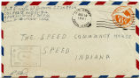 Letter from Orville W. Doane to The Speed Community House, August 8, 1944.