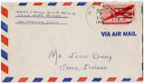 Letter from William E. Bedell to Mr. Jesse Dorsey, September 6, 1945.
