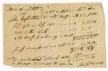 Fee bill, William Littell vs. John Coopriter, 1820 July 15