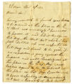Letter, Alexander C. Craig, Vallonia (Ind.), to General John Gibson, 1813 April 23