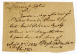 Promissory note, Moses Bartlett to John Tipton, 1824 April 2