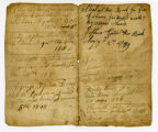 Family record, Joshua and Jennet Tipton, [1789]