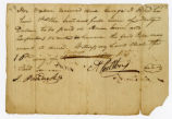 Note, Alexander Ralston to George Pope, 1815 August 10