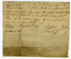 Authorization for John Boiles to receive payment for Richard Boiles, 1817 August 11