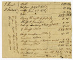 Cost bill, J. Stewart vs. H. Hustand, 1818 June 9