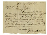 Order, County Commissioners to Joseph Culton and Temple C. Byrn, 1819 February