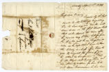 Letter, David S. Collins, Natchez (Miss.), to John Tipton, 1820 April 1