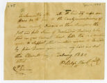 Bond, Philip Hart to Owen County Commissioners, 1820 February 11