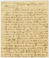 Letter, William Hendricks, Washington (DC), to John Tipton, 1820 March 4