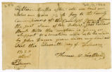 Bond, Thomas McNaught to County Commissioners, 1820 February 11