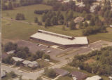 Aerial view of Brownsburg Library