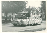 Brownsburg Centennial Parade: Bethesda Baptist Church float