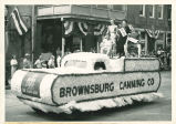 Brownsburg Centennial Parade: Brownsburg Canning float