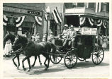 Brownsburg Centennial Parade: Horse-drawn carriage